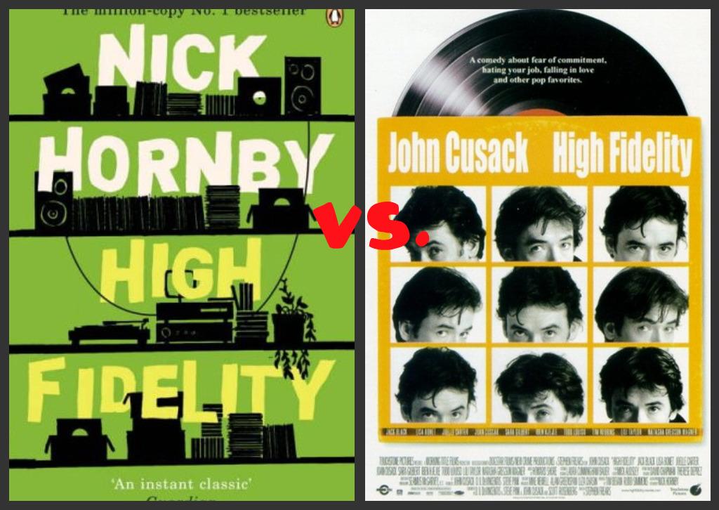 high fidelity novel
