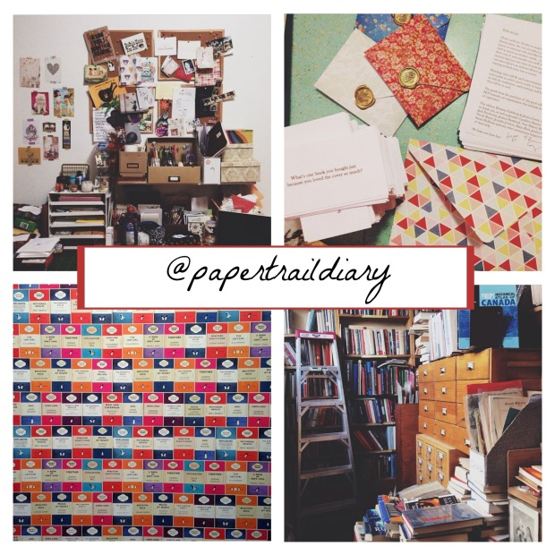 paper trail diary - instagram